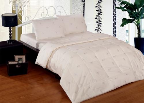Одеяло Евро из бамбука, чехол хлопок